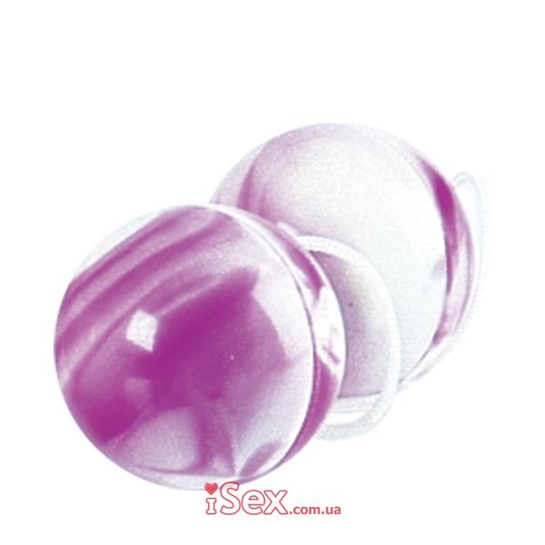 Вагинальные шарики бело-фиолетовые