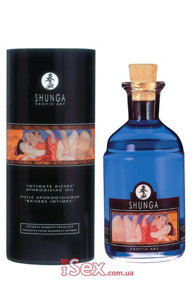 Массажное масло ароматизированное Shunga, 100 мл