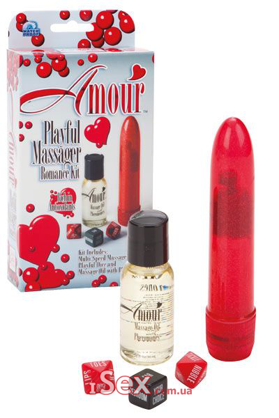 Набор для двоих Amour Playful Massager Romance Kit