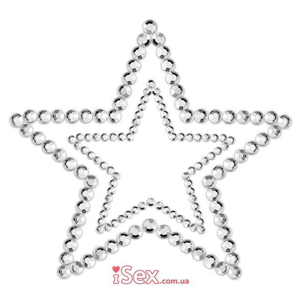 Пэстисы (наклейки на грудь) в форме звезды