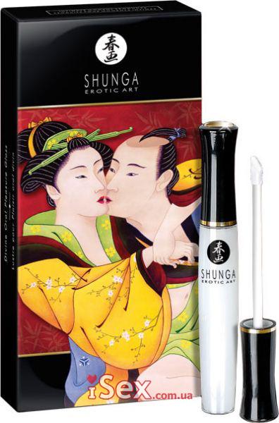 Эротический блеск для губ Divine Oral Pleasure Lipgloss, 10.5мл.
