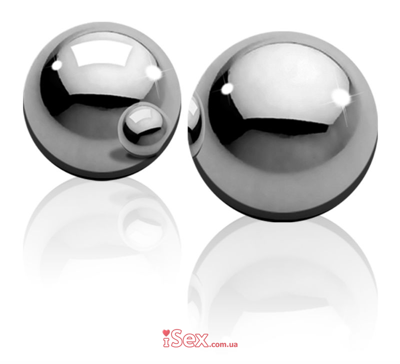 Вагинальные шарики Metal Worx Ben-Wa Balls Small