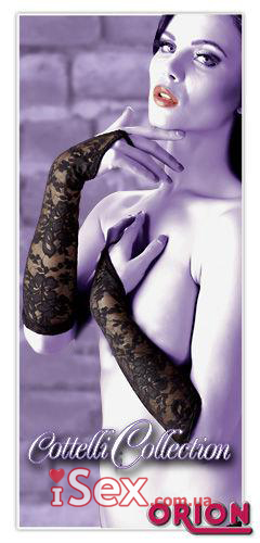 Кружевные перчатки-митенки Gauntlets