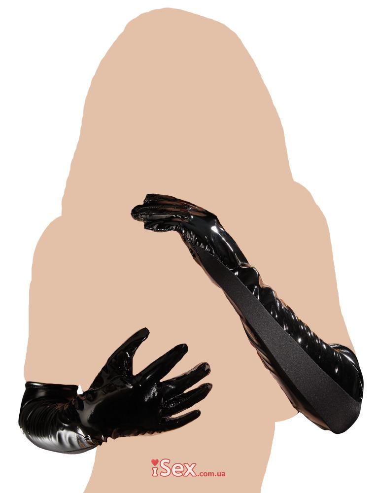 Лаковые перчатки Vinyl Gloves