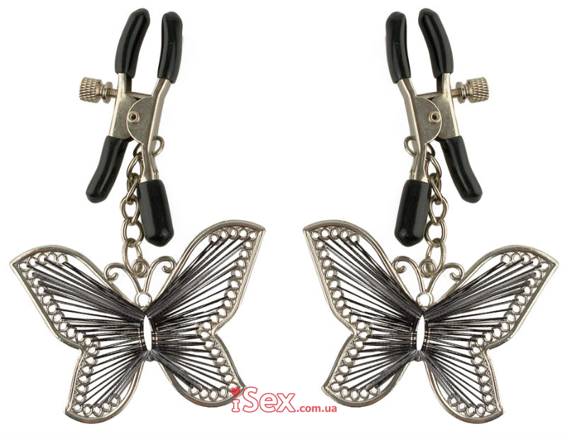 Зажимы на соски Fetish Fantasy Series Butterfly Nipple Clamps