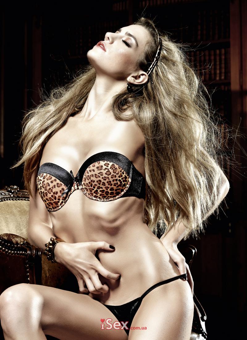 Бюстгальтер Kimberly Leopard Padded Underwire Bra