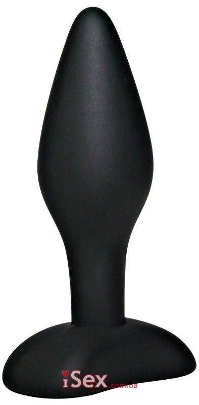 Анальная пробка Black Velvets Small Plug, 9 см