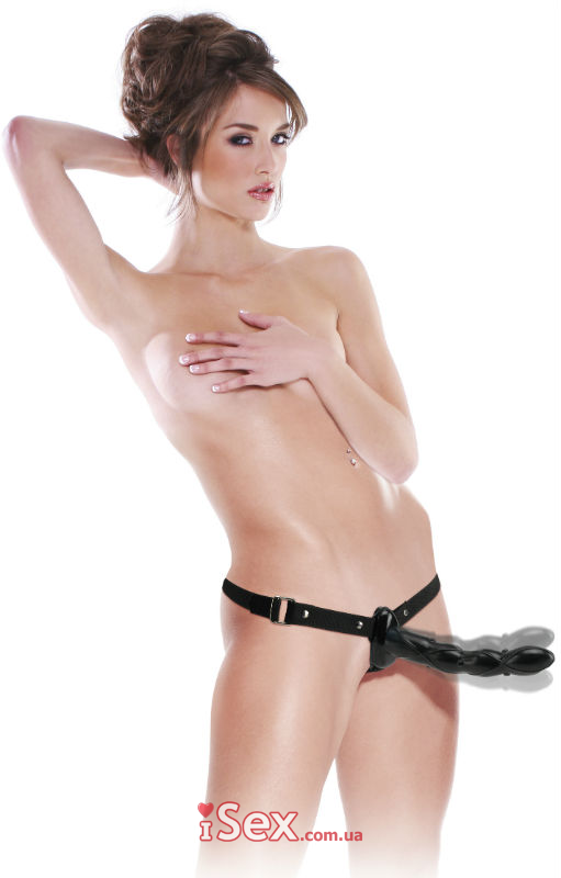 Страпон Fetish Fantasy Series Twist and Shout Vibrating Strap-On