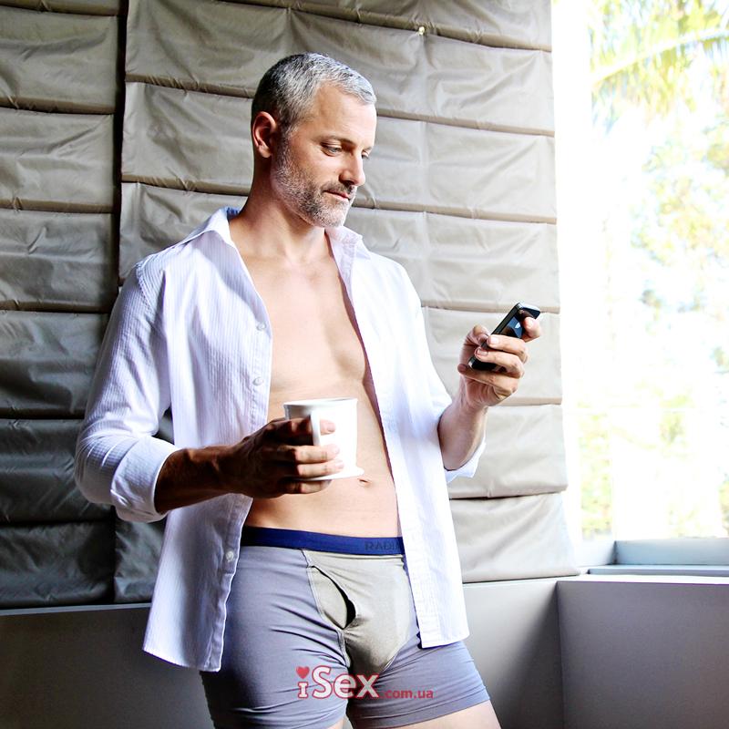 Мужские трусы с защитой от ежедневного излучения RadiaShield Mens Boxer-Brief