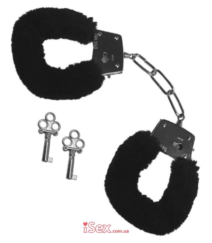 Меховые наручники Furry Handcuffs