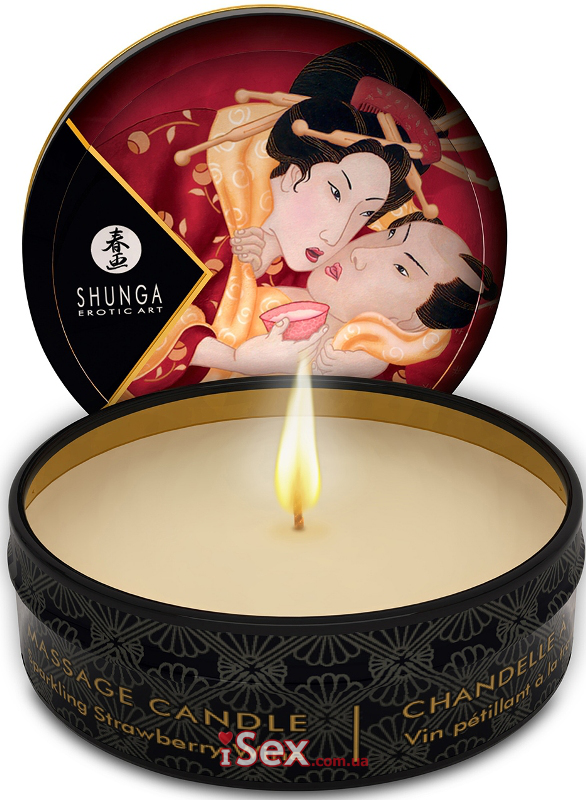 Массажная свеча Massage Candle, 30 мл