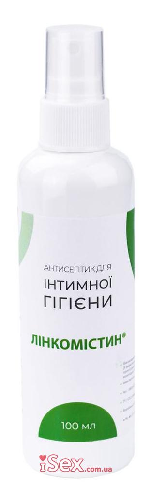 Антисептик для наружного и местного применения Линкомистин (0,1% водный раствор мирамистина) в спрее, 115 мл