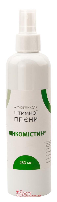 Антисептик для наружного и местного применения Линкомистин (0,1% водный раствор мирамистина) в спрее, 250 мл