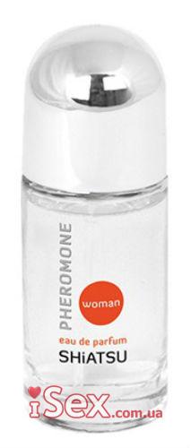 Духи с феромонами для женщин HOT Shiatsu Pheromone Parfum Woman, 15 мл