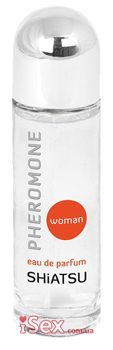 Духи с феромонами для женщин HOT Shiatsu Pheromone Parfum Woman, 25 мл