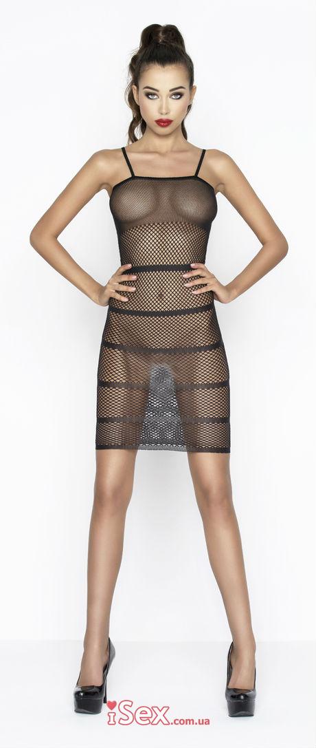 Эротическое платье-сетка
