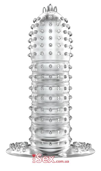 Насадка Silikon Sleeve - Clear