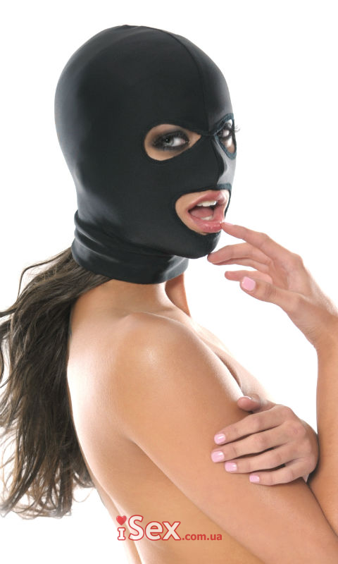 Маска на голову Fetish Fantasy Series Spandex 3 Hole Hood