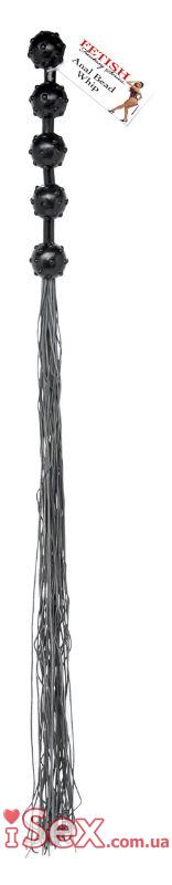 Плеть с анальными шариками на рукоятке Fetish Fantasy Series Anal Bead Whip