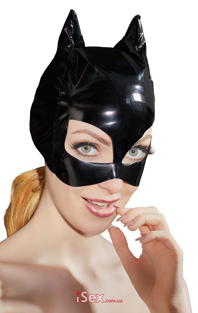 Лаковая маска бетмена S-L