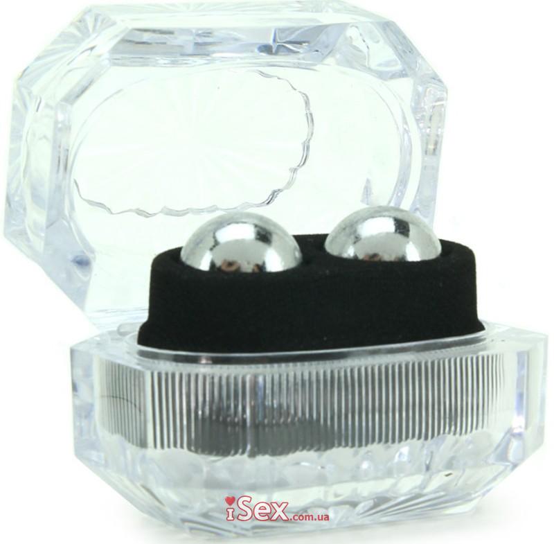 Вагинальные шарики Silver Balls In Presentation Box
