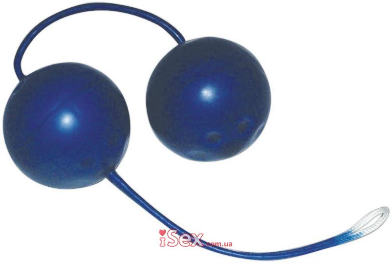 Вагинальные шарики Blue Ecstasy Latex Love Balls