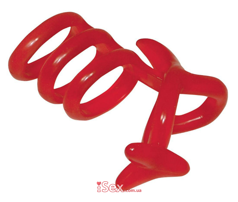 Кольца для пениса и яичек Funny Kangaroo , 9 см