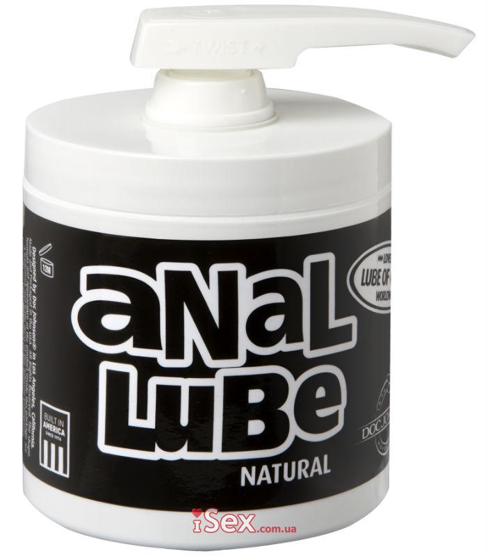 Анальный лубрикант на масляной основе Anal Lube Natural, 142 мл