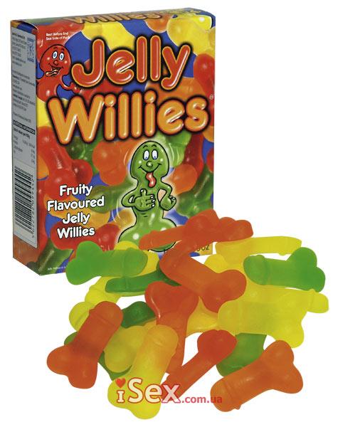 Желейные конфетки в виде пенисов