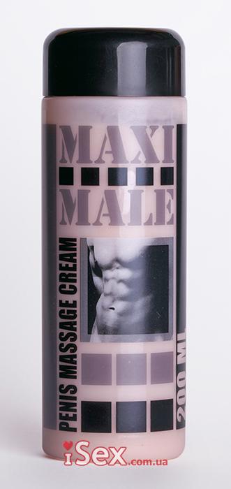 Крем для увеличения размеров члена Maxi Male 200 мл
