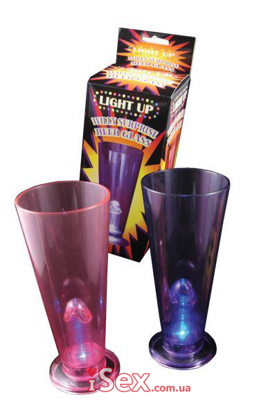 Сувенир стаканчик Light Up Willy Surprise Beer Glass