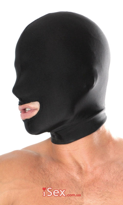 Маска Fetish Fantasy Series Spandex Open Mouth Hood