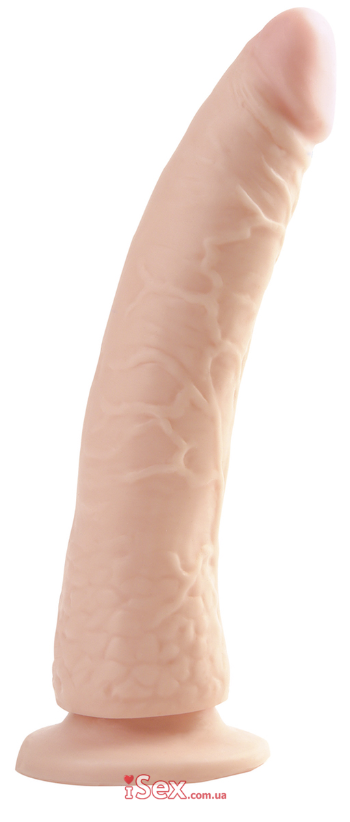 Фаллоимитатор телесного цвета Basix Rubber Works Slim 7
