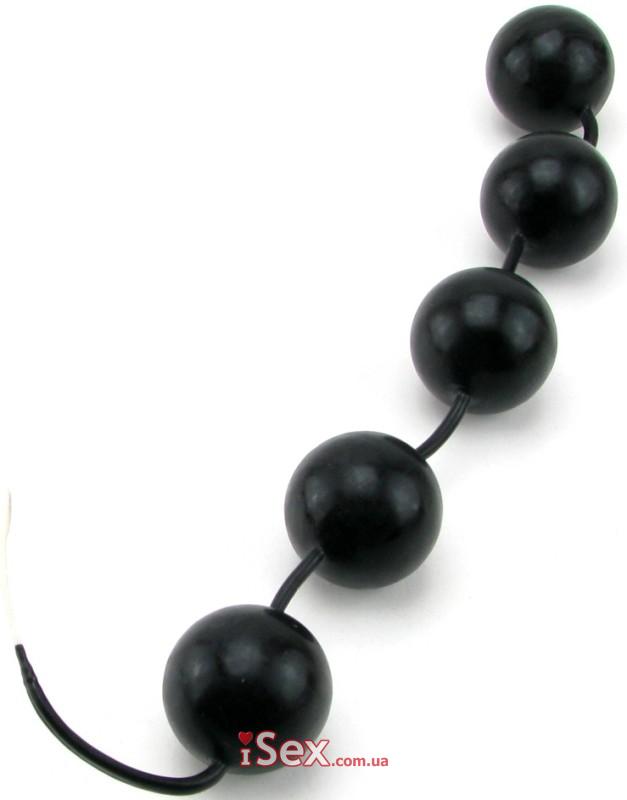 Анально-вагинальные шарики с кольцом Power Balls