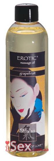 Масло для тела HOT Shiatsu grapefruit