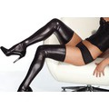 Чулки Wet Look Thigh High Stockings