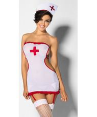 Модели в костюмах горничных медсестер секретарши, лизать ноги в носках видео