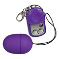 Виброяйцо с ПДУ You2Toys Purple and Silky Vibro