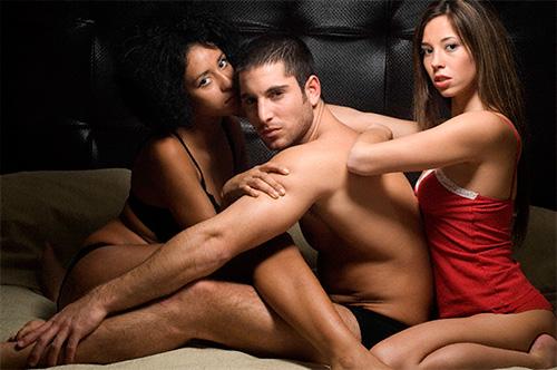 Секс втроем сексуальные фантазии